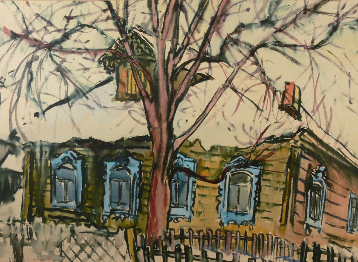 Za drzewem chata, 1964 r.