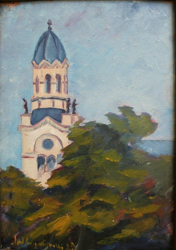 Wieża kościoła (1929)