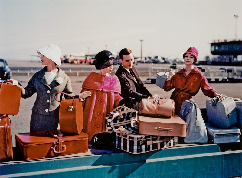 Modelki na lotnisku