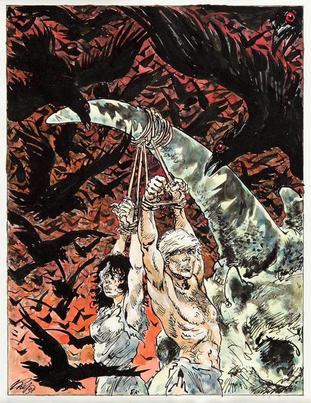 Yans i Orchidea, bohaterowie serii komiksowej Yans, 1997 r.